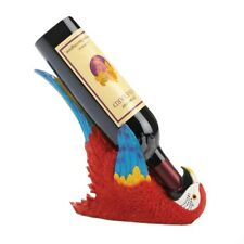 Colorful Tropical Parrot Wine Bottle Holder