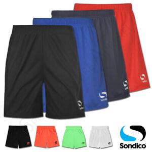 Boys Shorts Sondico Junior Football Sports Running Kids School Age 9 10 11 12 13