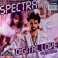 """7"""" SPECTRA Digital Love DEBORAH SHELTON SHUKY LEVY & AVIVA TELDEC 1986 like NEW!"""
