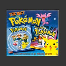 "2 CD BOX CRISTINA D'AVENA GIORGIO VANNI "" POKEMON THE BEST OF "" RARA VARIANTE"