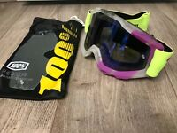 100% Accuri Motocross Brille MX Goggle Tootaloo Racecraft Strata NEU NEW Enduro