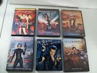 LOT OF 6 RESIDENT EVIL 1-6 DVDS RETRIBUTION EXTINCTION AFTERLIFE FINAL CHAPTER