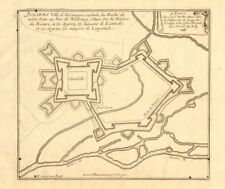 'Juliers, ville d'Allemagne…'. Jülich fortified town/city plan. DE FER 1705 map