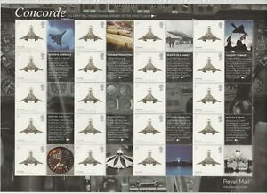 GB 2009 SMILER SHEET LS57 CONCORDE MINT