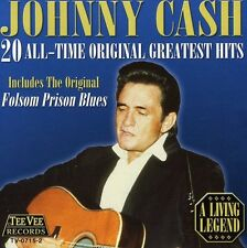 Johnny Cash - 20 All Time Original Greatest Hits [New CD]