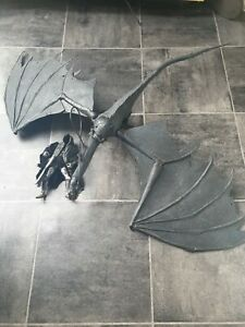 Lord of the Rings LOTR ROTK Deluxe Fell Beast and Ringwraith action figure 2003