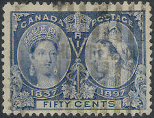 TMM* 1897 Canada Stamp Scott #60 used/no hinge/medium cancel F/VF Jubilee issue