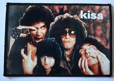 KISS Original Vintage 1980`s Sew On Patch/Photopatch not tour shirt lp cd badge