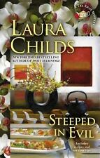 Steeped in Evil (A Tea Shop Mystery), Childs, Laura, Good Condition, Book