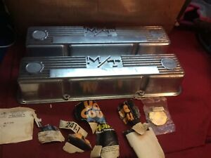 59-67 Mickey Thompson/Holley 241-1 Small Block Chevy Polished M/T Valve Covers