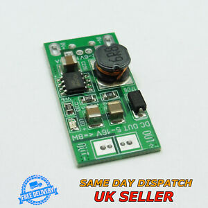 8W DC-DC 5V to 12V Step Up Module USB Input Voltage Boost Converter Power Supply