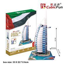 Burj Al Arab Jumbo 3D Puzzle Educational Jigsaw Cardboard Puzzle CubicFun MC101h