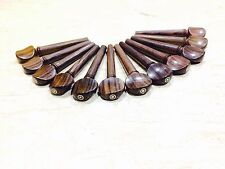 Rosewood Tuning Pegs with Parisian Eye for Violin , Viola , Oud 12 piece Combo
