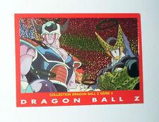 RARE CARTE DRAGON BALL Z SERIE 4 1989 KING COLD FREEZA Dr GERO CELL RECOOM N° 10