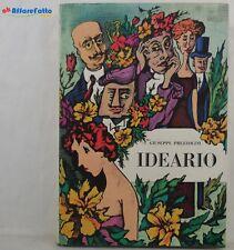 J 5704 LIBRO IDEARIO DI GIUSEPPE PREZZOLINI 1967