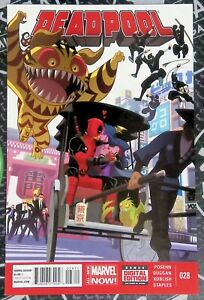 Deadpool #28-30 2014 Marvel Comics Original Sin Shiklah Dazzler 1:10 Variant