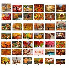 30 Personalized Return Address Labels Fall Autumn Buy 3 get 1 free (F2)