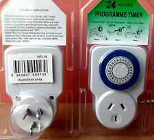 Electric Timer switch programable,  24 Hrs. Cycle, for domestic appliances.