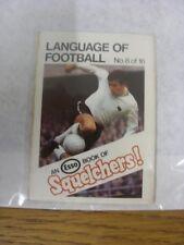 1970/1971 Esso: Squelchers - 08 Language of Football, An Esso Mini-Book 16 Issue