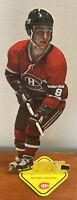 1975 Carton-Craft Hockey Heroes NHL Stand-Up Montreal Canadians Doug Risebrough