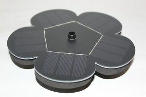 Solar Fountain Pump 1.5W Solar Water Pump, Built-in Battery NEW