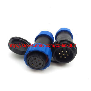 SD20 7Pin Waterproof Connector, 10A 250V High Voltage Automotive Plug Socket