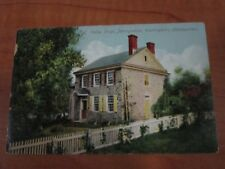 Vintage 1908 Posted Washington's Headquarters, Valley Forge, PA Postcard