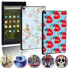 Printing Slim tablet Shell Cover Case For Amazon Fire 7/ HD 8/ HD 10 with alexa