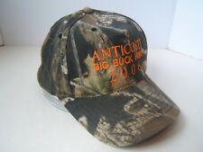 Anticosti Big Buck Hunt 2006 Camo Hat Camouflage Strapback Basbeball Cap