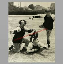 Three Little Pigskins Three Stooges PHOTO Publicity Pic, Moe Larry Curly 1934