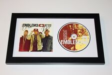 Emblem 3 Band Signed Framed CD Cover w/COA x3 Nothing To Lose E3 Chloe One Day