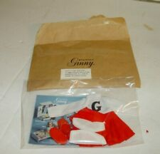 Estate Vintage 1980 Vogue The World Of Ginny Doll Cheerleader ? Outfit Nos