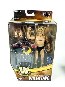 "WWE Elite Legends Series 7 GREG ""THE HAMMER"" VALENTINE Target Exclusive 6"" NEW"