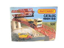 Vintage 1981/82 Matchbox Collectors Catalog