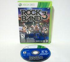 Rock Band 3 (Microsoft Xbox 360) Game & Case Good Disc Music No Guitar Drums