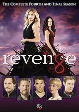 REVENGE: SEASON 4 DVD - THE COMPLETE FOURTH AND FINAL SEASON [5 DISCS] - NEW