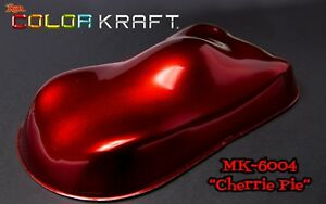 Color Kraft Cherrie Pie Red Kandy Quart Kit with Basecoat Activator and Reducer