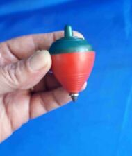Israel Vintage Plastic Playing Spinning Top Dridel Toy