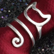 Cat Long Jewelry Adjustable Tail Ring Wrap Women Fashion
