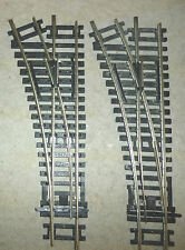 Hornby Nickel Silver Track Left Hand Points R8072 x2
