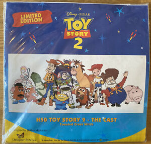 Toy Story 2 The Cast Disney Pixar Counted Cross Stitch Kit