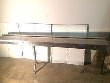 Garvey Stainless Conveyor Frame For 75 Plastic Table Top Chain 85ft Long