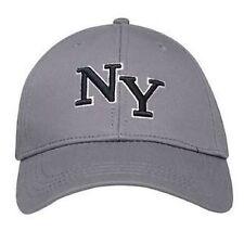 MENS CHARCOAL GREY NO FEAR NEW YORK YANKEES BASEBALL CAP - BRAND NEW