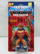 MOTU,Vintage,KING RANDOR,Masters of the Universe,MOC,Sealed,Clear,He Man