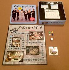Friends Trivia Game Blue Tin Complete