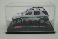 Schuco modello di auto 1:72 MERCEDES-BENZ CLASSE M POLIZIA
