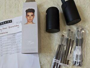 Authentic Morphe x JAMES CHARLES Eye Brush Set 13 Piece Eyes Eyeshadow +Case