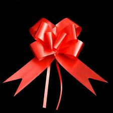 20pcs 30mm Red Pull Bows Floral Tributes bouquets Gift Events Party decoration