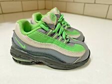 NIKE Little AIR MAX 95 Toddler Baby Shoes Sneakers  Sz 6C Green #311525 - 046