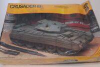 Testors Italeri British Crusader III WWII Primary Tank 1:35 Model Kit Sealed